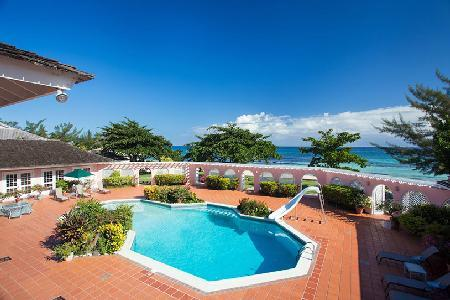 Phenomenal Villa Mara with beach access, cook, housekeeping and tennis court - Image 1 - Mammee Bay - rentals