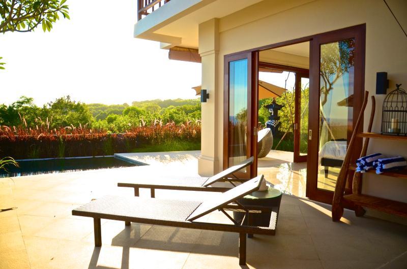Pool Deck - Villa Karang Kirana-Ocean View - Jimbaran - rentals