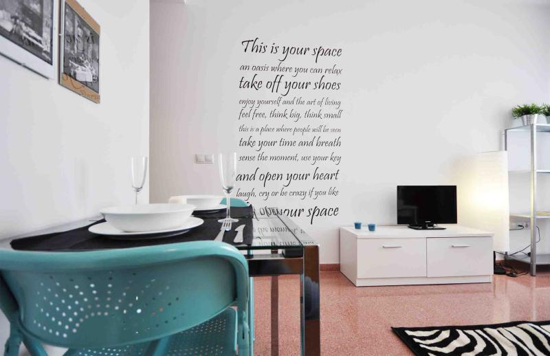 LIVING ROOM - ESTHER'S APARTMENT 2º - Malaga - rentals