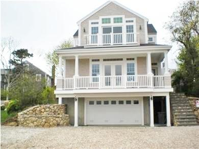 Exterior - BEAUTIFUL, CENTRAL AIR, WALK TO NEW SILVER BEACH! 121780 - North Falmouth - rentals