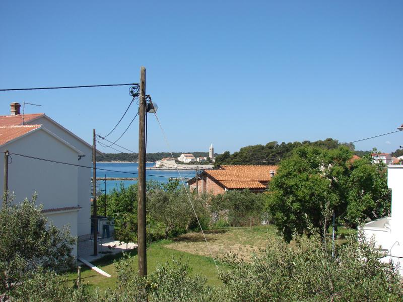 Villa Bruna apartment with balcony and sea view - Image 1 - Rab - rentals