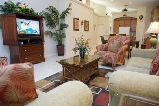 Professionally Decorated 4 bedroom 3 Bathroom Resort Style Home - Image 1 - Orlando - rentals