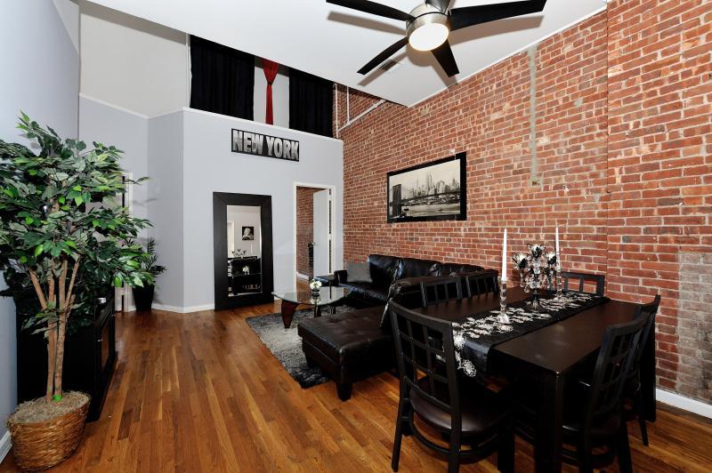 Living Area - Union Square Penthouse - New York City - rentals