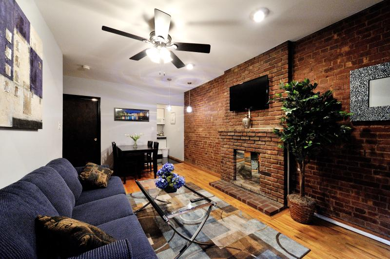 Living Area - Upper West  Duplex 2 Bed-1.5 - New York City - rentals