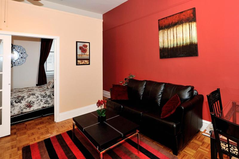 Living Area - Herald Square 2 Bed-1 - New York City - rentals