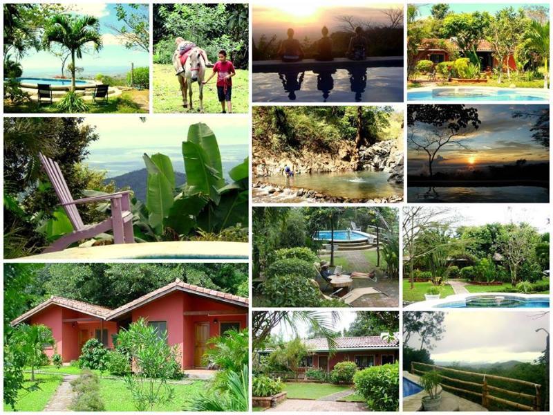 Surroundings- Umgebung- Alrededores - Bungalows Finca El Mirador, Puntarenas, Costa Rica - Miramar - rentals