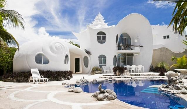 THE SEASHELL HOUSE - The Seashell House...  famous worldwide - Quintana Roo - rentals
