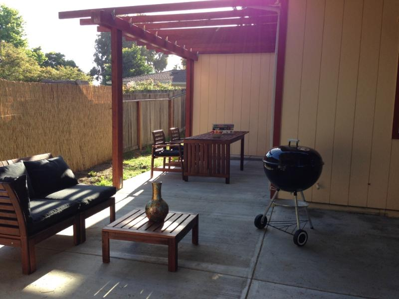 Patio - Santa Cruz Getaway!!!! - Santa Cruz - rentals