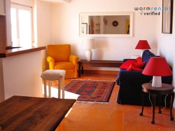 Living Room  - Curry White Apartment - Estoril - rentals