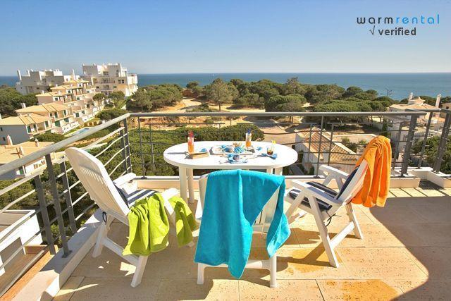 Balcony & View  - Frug Apartment - Olhos de Agua - rentals