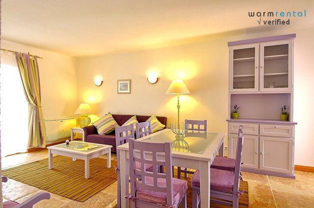Living & Dining Area - Giddah Violet Apartment, Albufeira, Algarve - Olhos de Agua - rentals