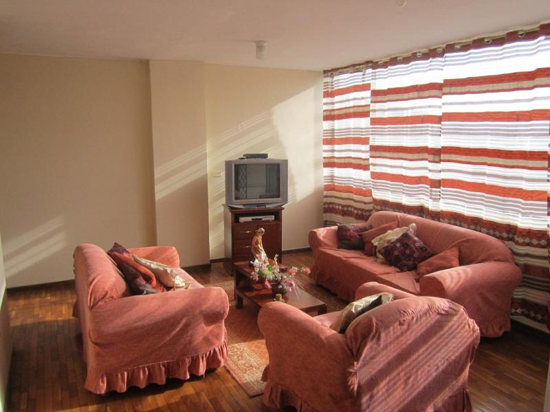 Living room - Safe cozy place close to Quito attractions - Quito - rentals