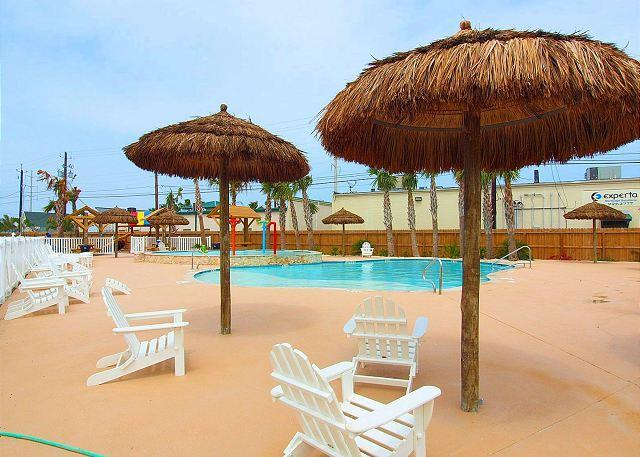 Poolside at Nemo Cay - All-New 5 Star Resort on North Padre Island. - Corpus Christi - rentals