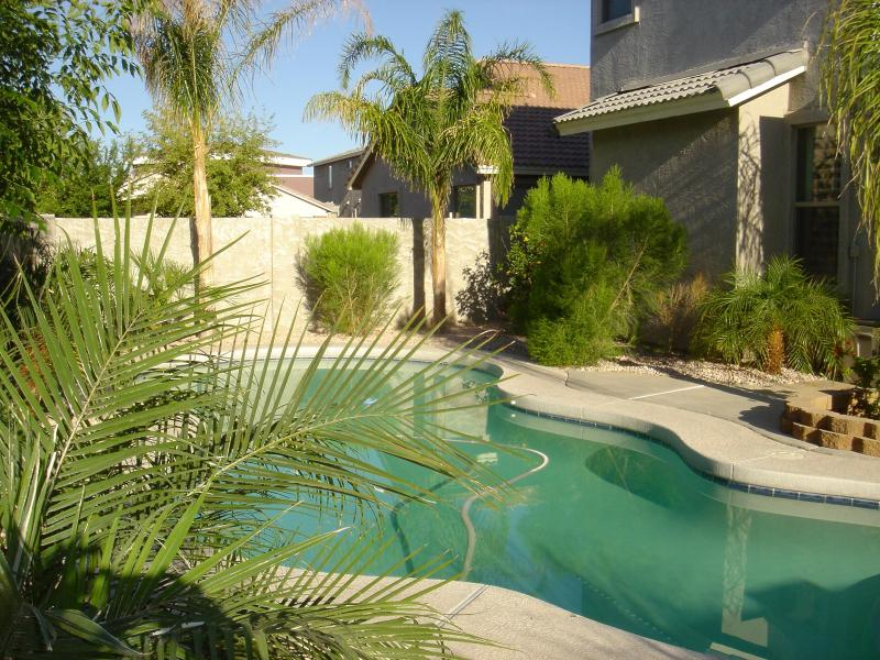 Private heated pool in the backyard - VILLA SORIANA in Surprise, AZ - Exquisite vacation - Surprise - rentals