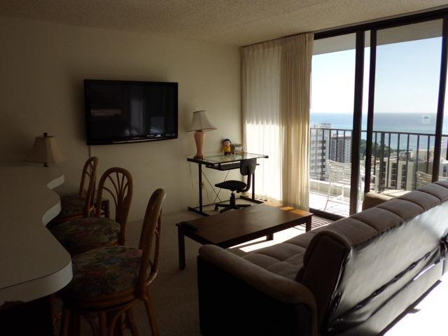 1Bedroom at Waikiki Banyan 31F  Partial Ocean View - Image 1 - Honolulu - rentals