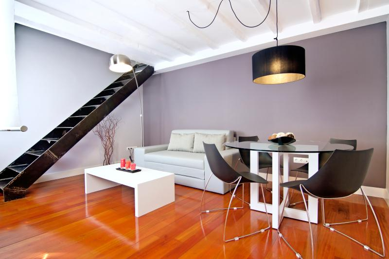 Livingroom - Duplex 1bdr Museums/Letras - Madrid - rentals