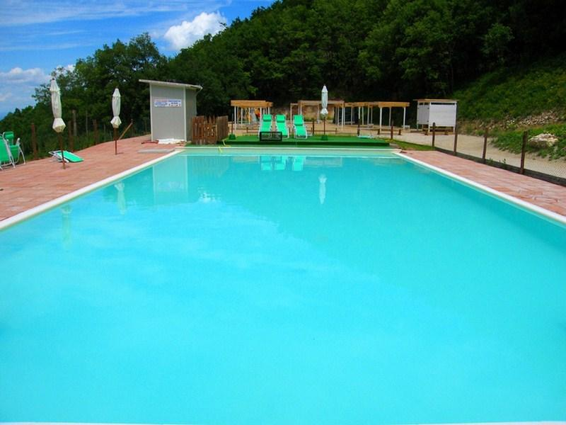 Large lap/leisure pool with WC - Villa Marianna : D, 7 miles to Spoleto centre - Spoleto - rentals