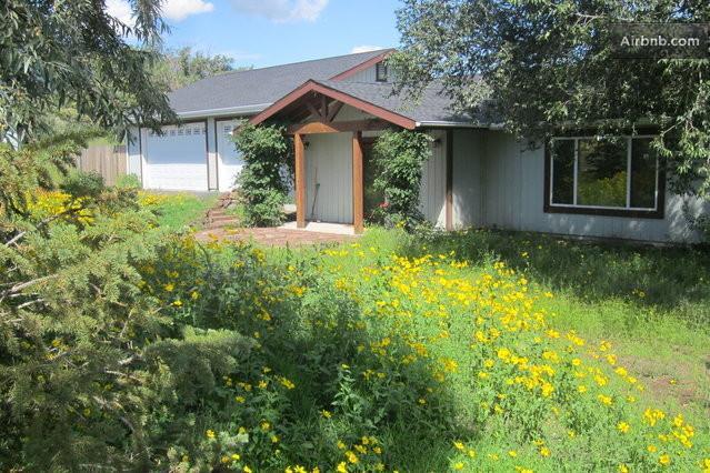 Front of home - San Francisco Peaks Wildernest - Guest Bedroom - Flagstaff - rentals