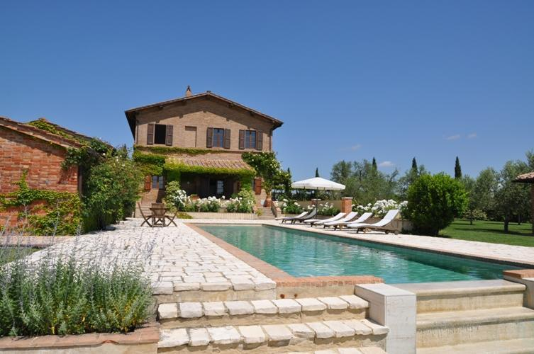 Luxury villa for 12 persons near Montalcino - Image 1 - San Giovanni d'Asso - rentals
