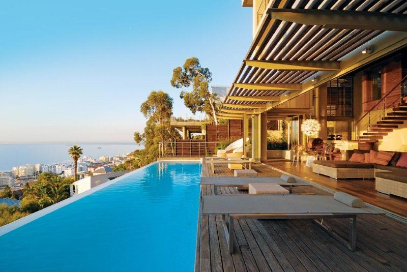 Entertainment Terrace - Luxury Designer Home With The Ultimate View - Cape Town - rentals