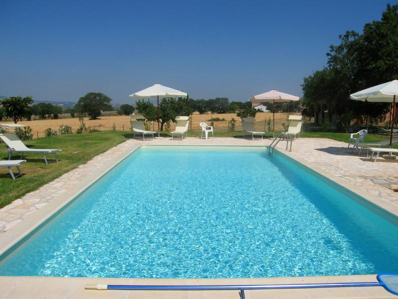 Large pool, shared only by family owner, at times... - Monastery Suites: A - 1 hr to Rome - Spoleto - rentals