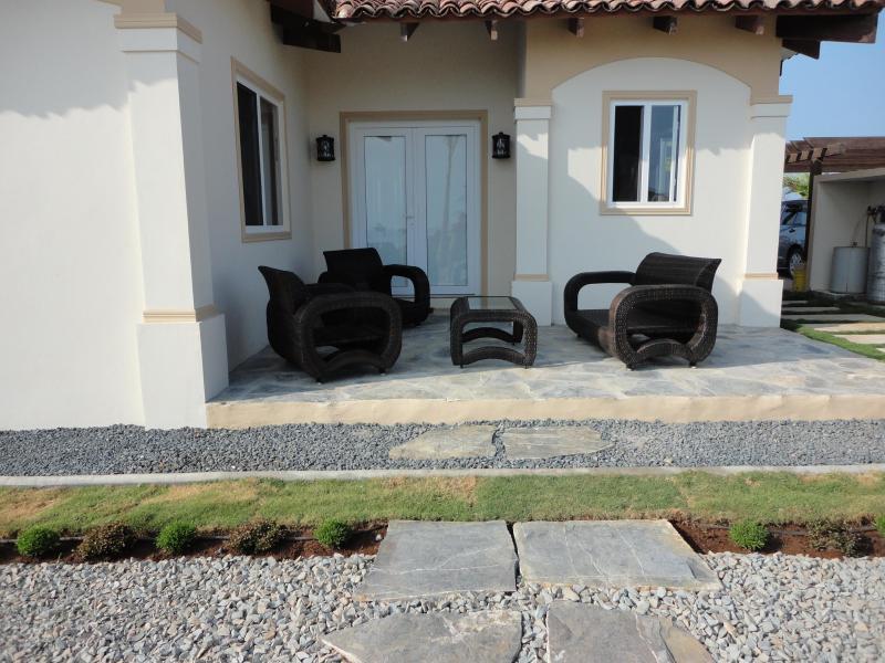 Garden side - Panama Beach Vaction Property - Pedasi - rentals