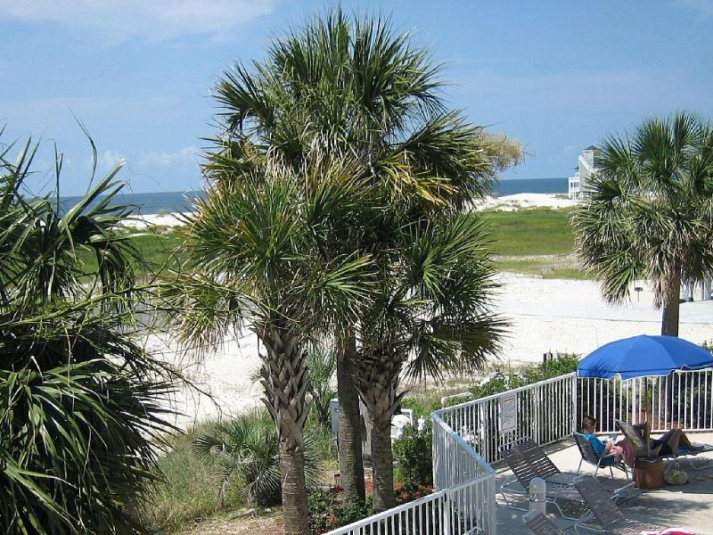 Balcony View, price shown includes tax & cleaning - Romance is life Stroll a mile of unpopulated beach - Fort Morgan - rentals