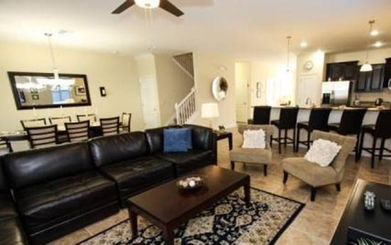 Sofa on Loft - CG8P9111ECL Orlando 8 BR Pool Home CG8P9111ECL - Orlando - rentals