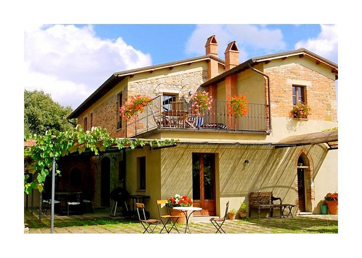 italy/tuscany/casa-olive - Image 1 - San Giovanni d'Asso - rentals