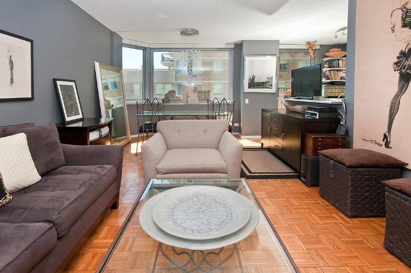 Convenient Midtown East  apt in luxury building - Image 1 - New York City - rentals