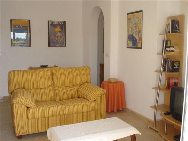 Living Room - (website: hidden), beach & golf - Ayamonte - rentals
