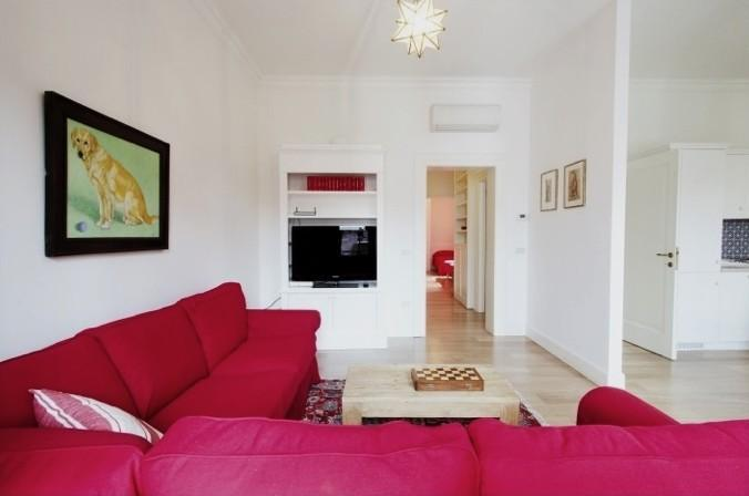 Living-room - Modern & bright apt with nice view in Santa Croce - Venice - rentals