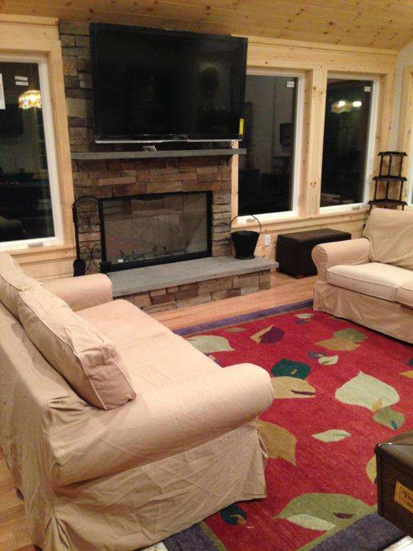 Great Room - LUXURY FOX HOLLOW ESTATE HOME ON LAUREL LAKE - Lenox - rentals