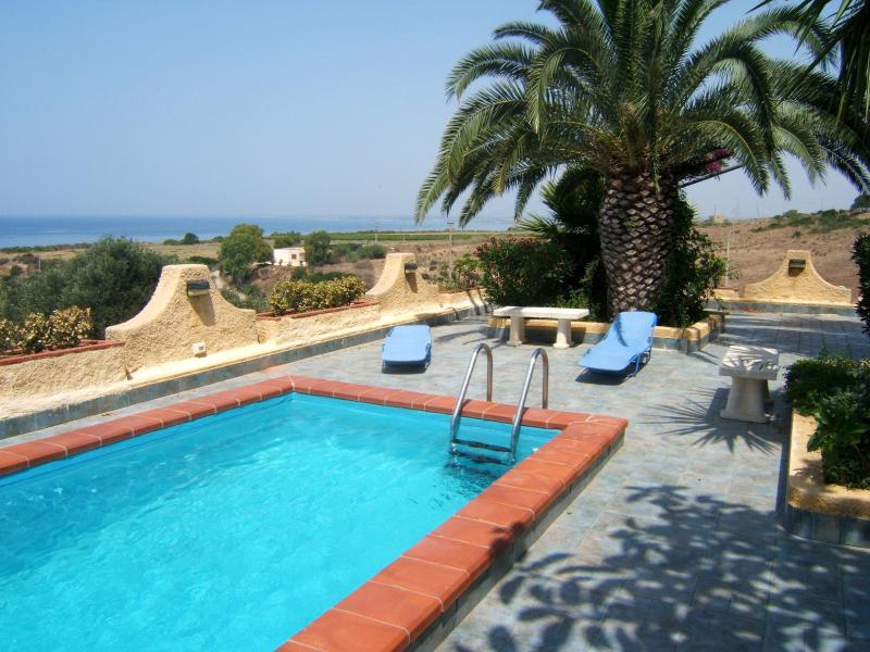Piscina - Una terrazza sul mare - Villa con piscina - Sciacca - rentals