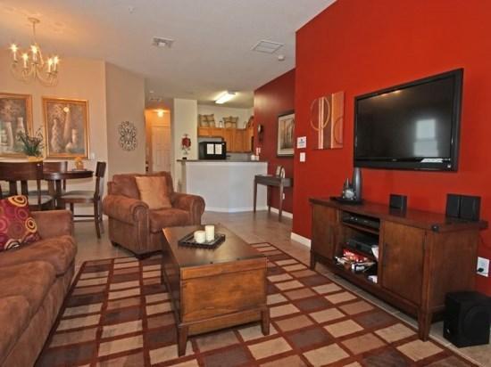 Beautiful 3 Bedroom 2 Bath Condo Located 1.5 Miles From Disney. 2825OD - Image 1 - Orlando - rentals