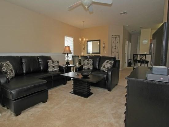 3 Bedroom 2 Bath Condo in OakWater Resort In Kissimmee. 7505BW - Image 1 - Orlando - rentals