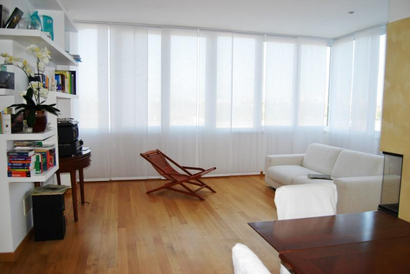 Living room - Apartment Piazza Bologna - Beautiful penthouse with terrace near Piazza Bologna - Rome - Rome - rentals