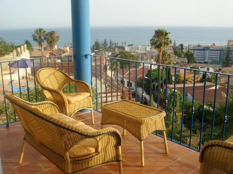 View from balcony - Villa in Rincón de la Victoria, Málaga - Rincon de la Victoria - rentals