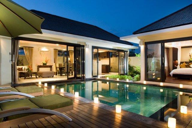 pool night - Sakovabali Villa 0118 Petitenget 2 BR - Seminyak - rentals