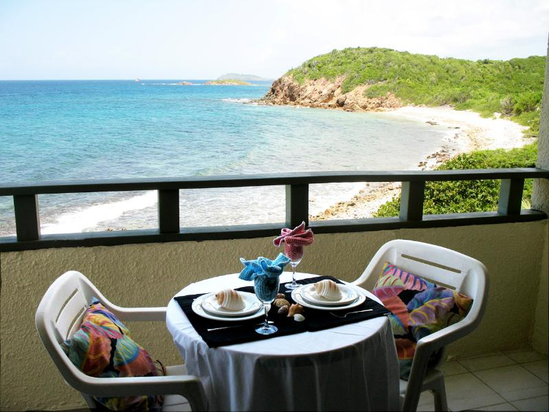 Balcony View..Dine Alfresco! - Beautiful St. Thomas, USVI  Sunset View!! - Saint Thomas - rentals
