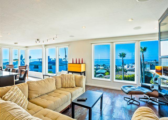 Breathtaking views of LaJolla Cove awaits you in the Perfect Penthouse condo home - Urban-chic penthouse with expansive ocean views. - La Jolla - rentals