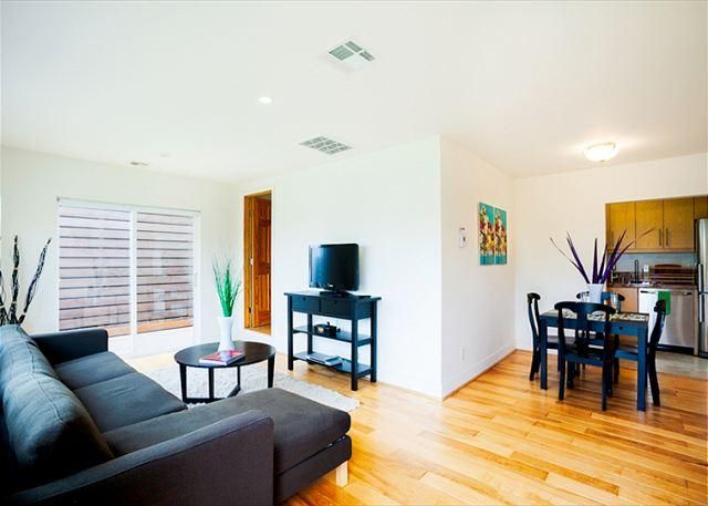 Living room is open to the dining room and kitchen. - Enjoy all that the Village of La Jolla has to offer at a reasonable rate - La Jolla - rentals