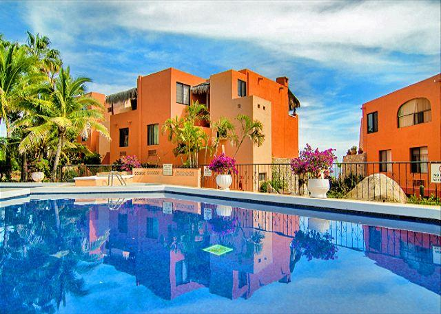 Welcome to Vista del Mar - a 2 bedroom Condo with beautiful pool, hot tub, and private beach access!  - Discounted rates! Ocean view condo with pool, spa, and private beach - Cabo San Lucas - rentals