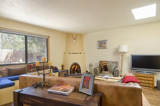 Living Room - Casita Colores - Santa Fe - rentals