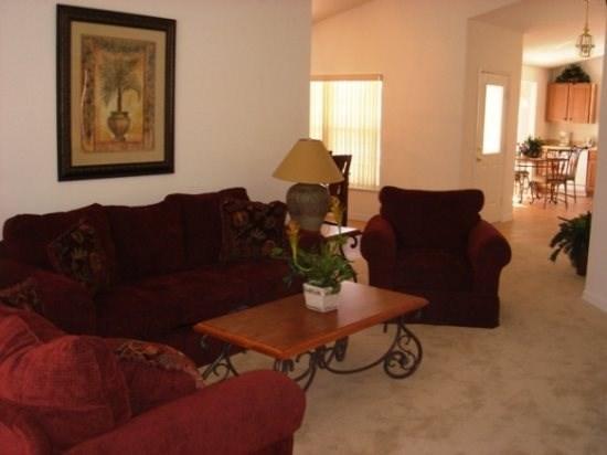 Living Room - S4P230HA Orlando 4 BR Pool Home S4P230HA - Orlando - rentals
