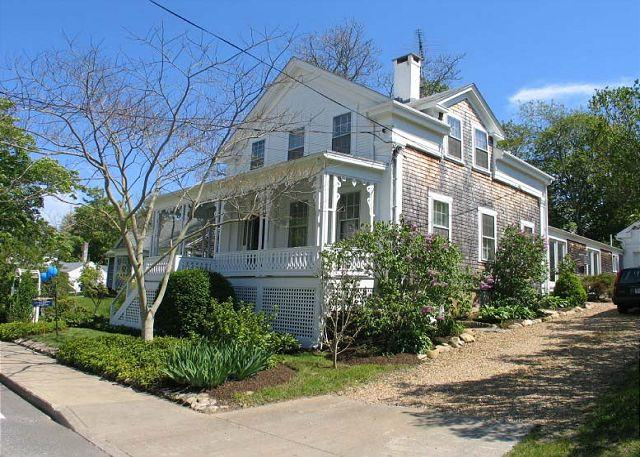 Exterior of House - ADELJ - In Town, Central Air Conditioning - Vineyard Haven - rentals