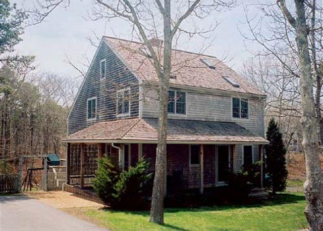 Front of House - LODGJ - Meadow View Farms, Out of Town, Association Tennis, Hi Speed Internet - Oak Bluffs - rentals
