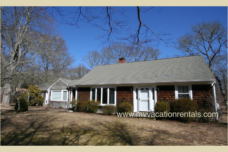 Exterior of House - FERRC - Immaculate Chilmark Retreat, 10 minute Drive to Lucy Vincent Beach, WiFi - Chilmark - rentals