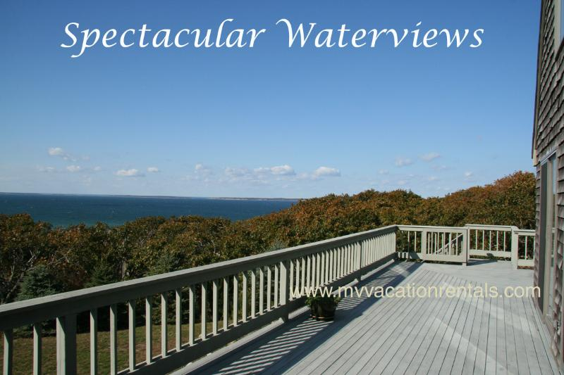 View from Deck - BRESP - Waterview, Association Beach - Chilmark - rentals