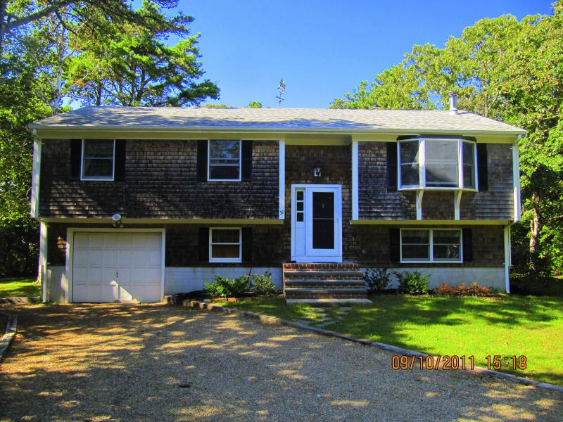 Front of House - HIGHW - Private location, Room A/C - West Tisbury - rentals